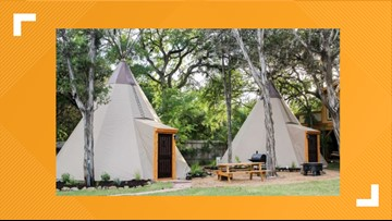 Celebrate the end of summer with a glamping trip in New Braunfels