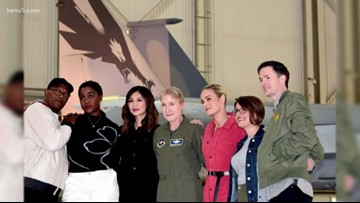 """The real-life female fighter pilot who inspired """"Captain Marvel"""""""