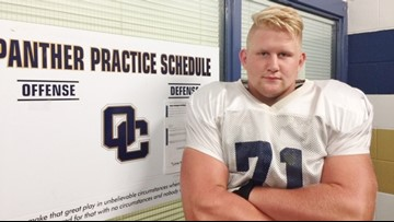 H.S. FOOTBALL / WEEK 7: O'Connor blue-chip lineman Logan Parr key cog in Panthers' offense