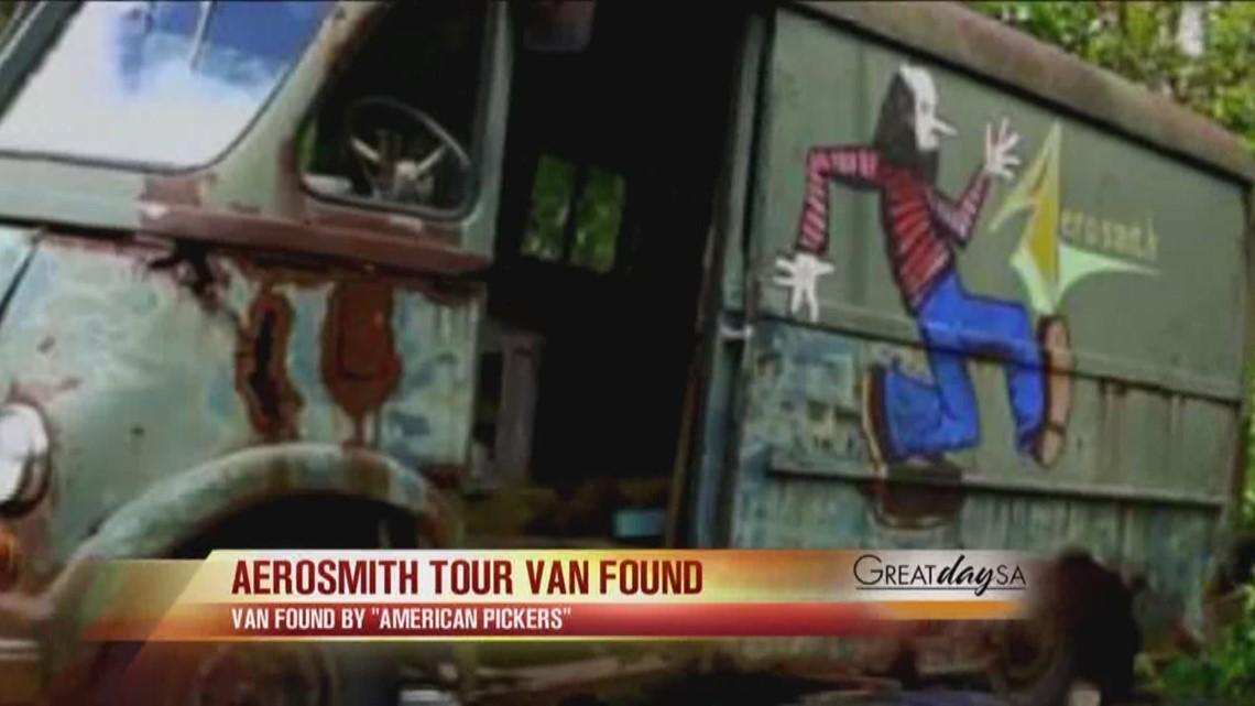 Aerosmith Tour Van Found Kens5 Com