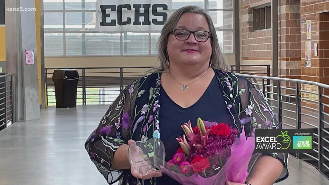 East Central ISD teacher wins EXCEL Award
