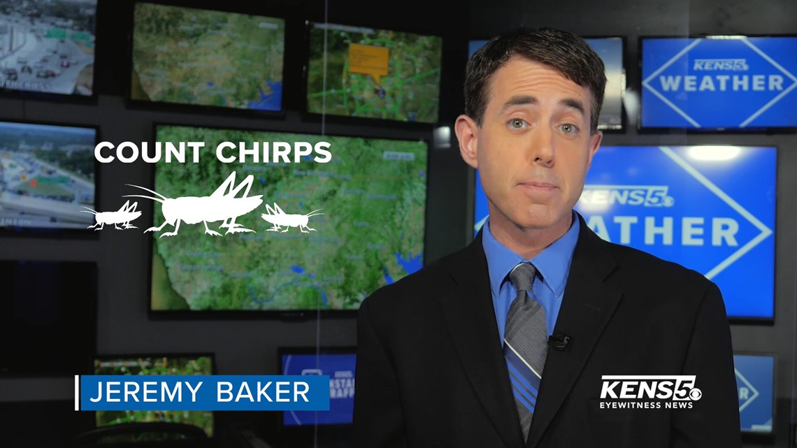 WEATHER MINDS with Jeremy Baker: Count cricket chirps to find air temperature