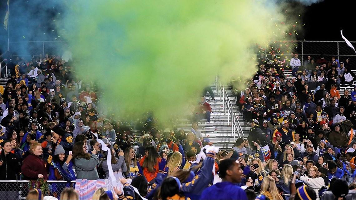 First Week Of High School Football Playoffs Features Heavy