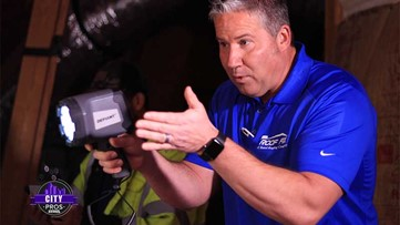 CITY PROS: Roof Fix - Thermal imaging technology