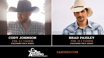 San Antonio Stock Show And Rodeo 2020.Brad Paisley Cody Johnson Set To Perform At 2020 Sa Stock