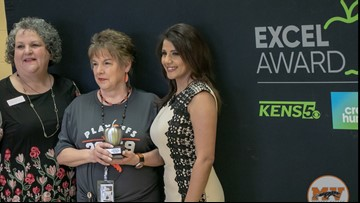 Suzanne Lee wins EXCEL award for Medina Valley ISD