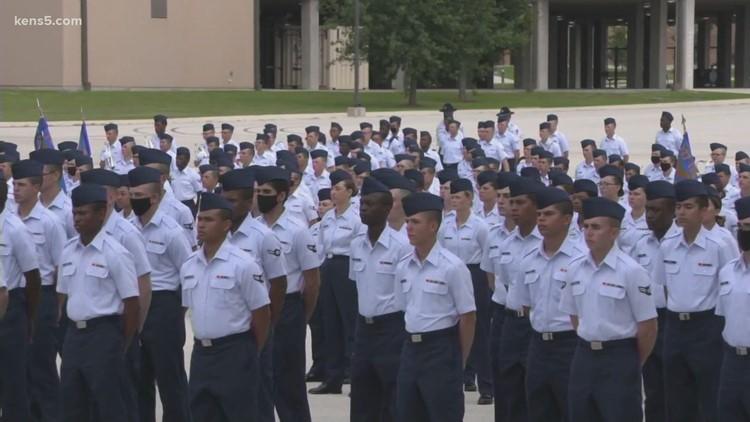 JBSA-Lackland allows visitors at graduation