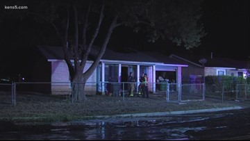 Firefighters arrive to flames shooting through the roof of west side home