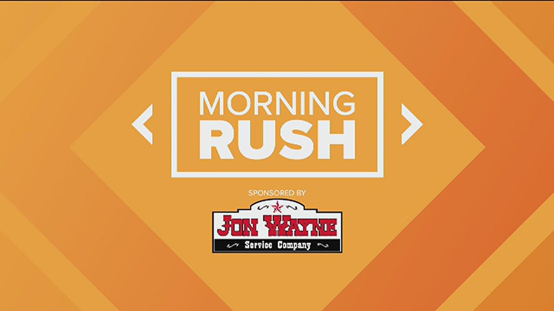 Morning Rush: Early voting begins, poll about McConaughey running for governor and Anderson Cooper fills in as Jeopardy! guest host
