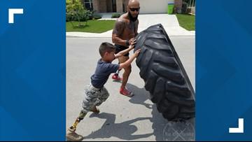 Marine veteran helps community 'Rise Above Hardship'