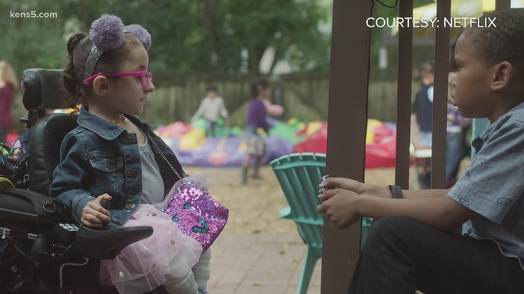 10-year-old with brittle bone disease raising awareness about disabilities on the big screen | Good Things Happen