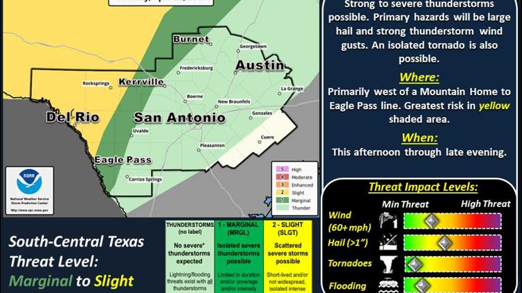Tuesday April 23 NWS