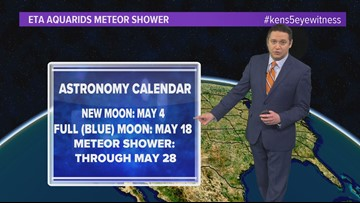 Weather Minds: Blue moons and meteor showers