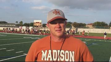 Madison coach Blaine Pederson on Friday's game against Johnson