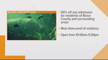Discount Day at San Antonio Zoo