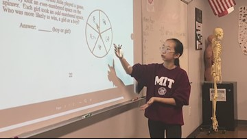 She's a world math champion and runs her own nonprofit. She's also just 13 years old.