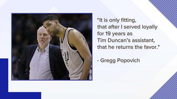 Popovich on Duncan