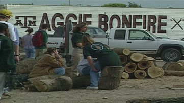 San Antonio Aggies reflect on bonfire collapse 20 years later