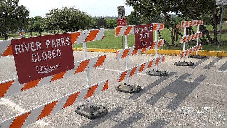 River access parks close in popular water recreation areas