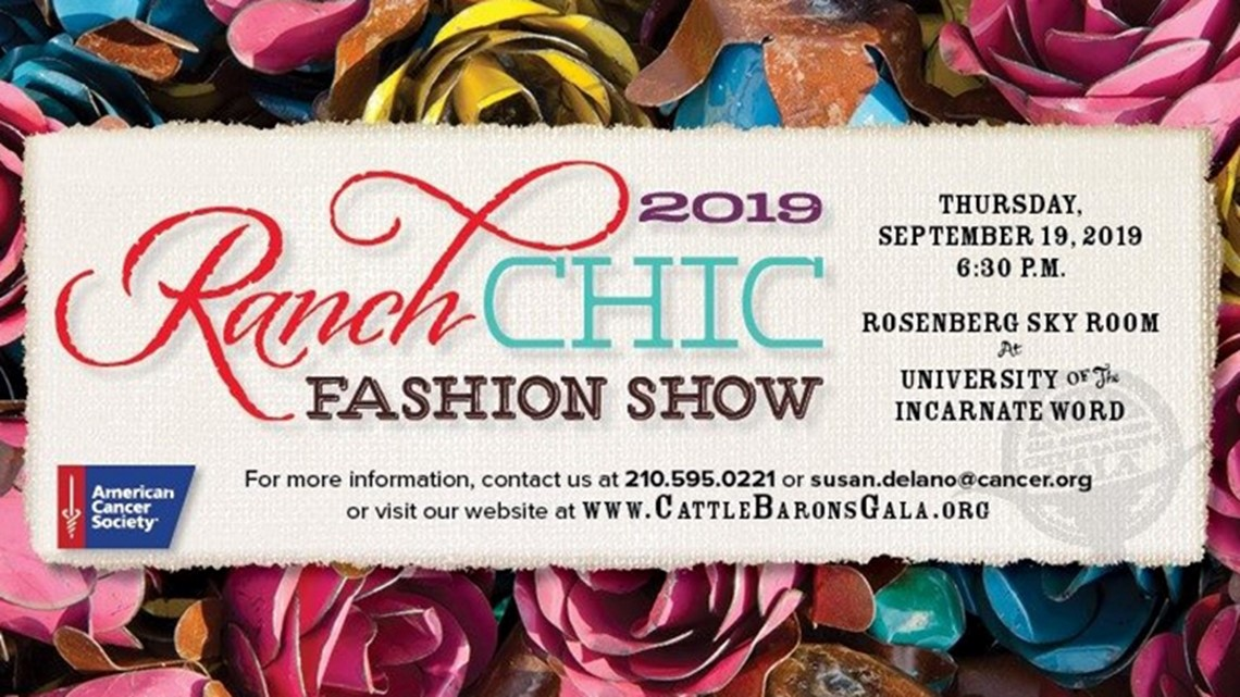 Kens Cares Ranch Chic Fashion Show Benefits American Cancer Society Kens5 Com