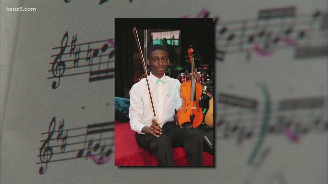 San Antonio musical prodigy says encounter with God led him to love of violin   Kids Who Make SA Great