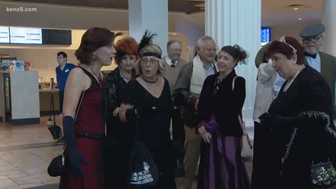 San Antonio seniors get into character for 'Downton Abbey'