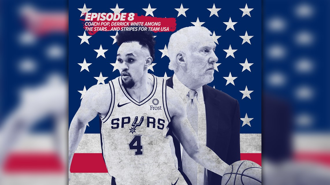Coach Pop, Derrick White among the stars…and stripes for Team USA | The Big Fundamental Podcast