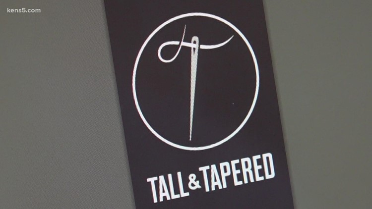 Local athlete uses height to create clothing business