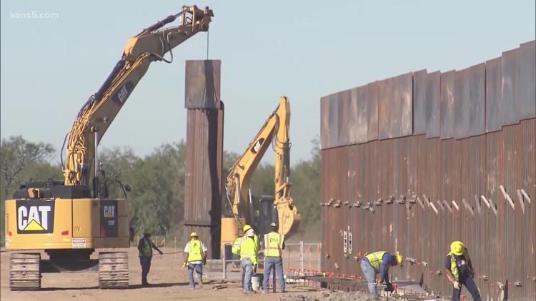 Gov. Abbott pledges to build wall along the Texas/Mexico border