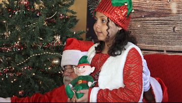 10-year-old facing rare cancer collects gifts for other kids in hospital