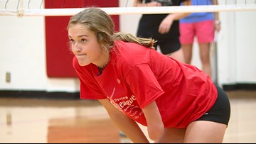 Limb-different Fredericksburg athlete stands out in world of volleyball