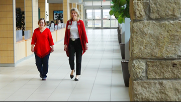 Former patient helps others by forming team for Methodist's Red Dress Fun Run
