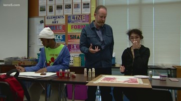 Timothy McMeans wins KENS 5 Credit Human EXCEL award for East Central ISD