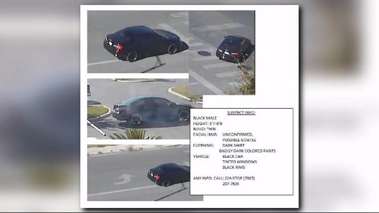 Suspect'scar in the murder of SAPD Detective Marconi (Photo: SAPD)