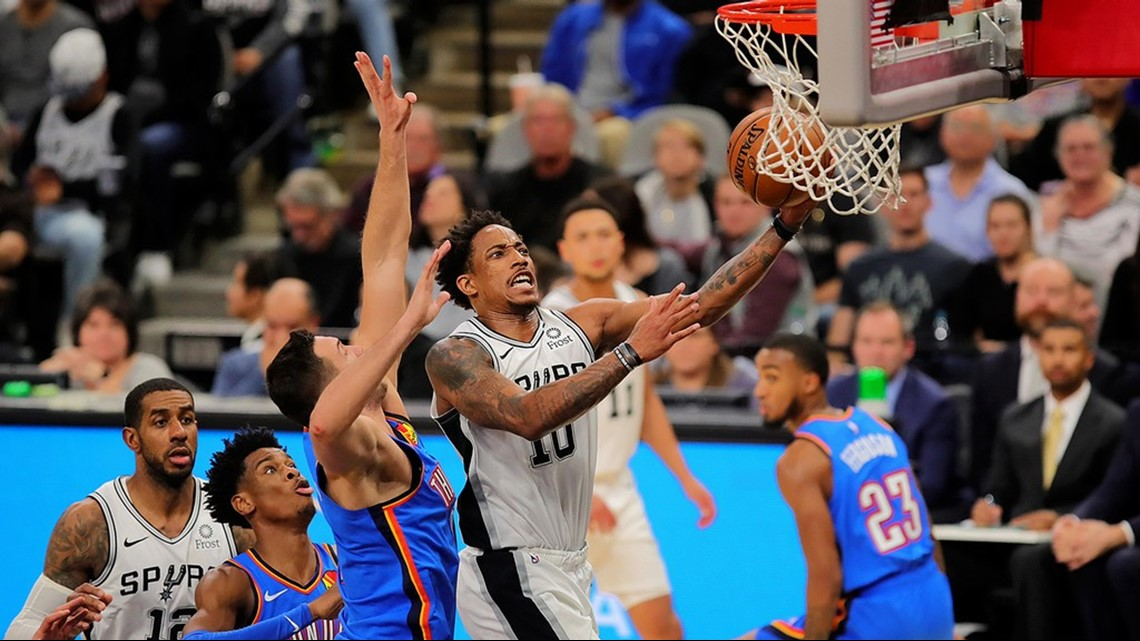 SPURS GAMEDAY: Silver and Black end rodeo trip Sunday in Oklahoma City