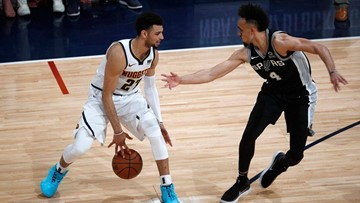 SPURS GAMEDAY: Pressure to hold serve at home squarely on Silver & Black's shoulders heading into Game 3 against Nuggets