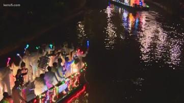 Ford Holiday River Parade officially kicks off the Christmas season in San Antonio