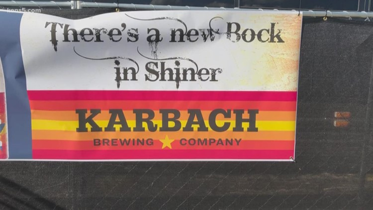 Bock off! Shiner Beer fires back after Karbach ads pop up around brewery's hometown