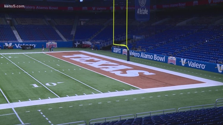 Alamo Bowl prepares to welcome more than 10,000 fans as COVID-19 pandemic rages on