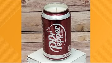 Trending: You can check out this Dr. Pepper scented candle