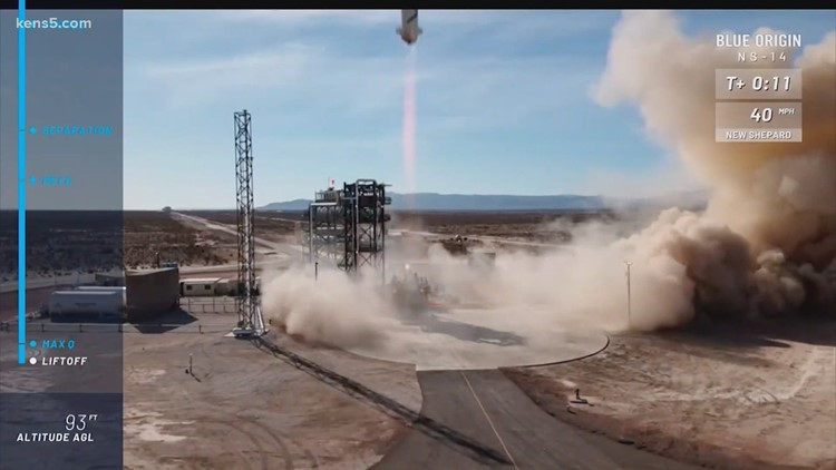 Successful launch and landing in West Texas for Jeff Bezos' space company