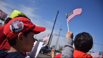 President's visit shows divide among Rio Grande Valley residents
