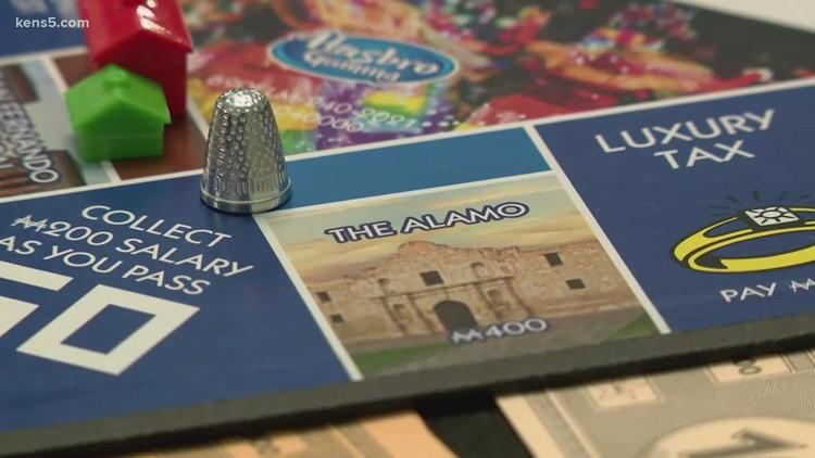 San Antonio Monopoly game featuring River Walk, Alamo unveiled