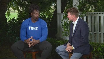 Cowboys' Demarcus Lawrence talks about preparation for 6th NFL season
