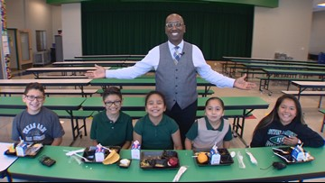 Students dish on school cafeteria food for Neighborhood Eats