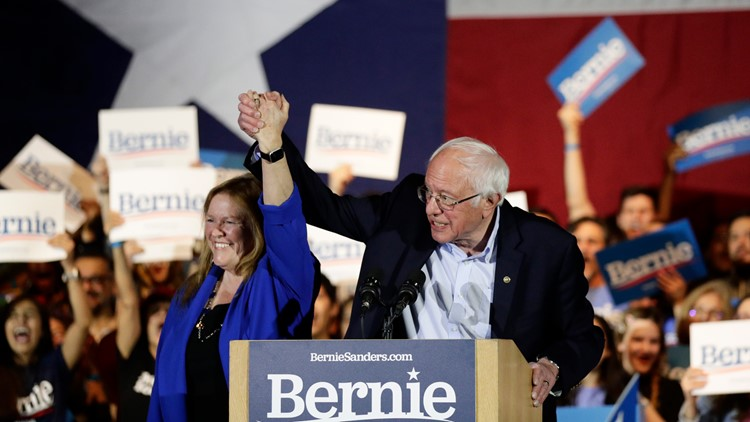 Bernie Sanders touches on universal healthcare, the environment, gun control reform and more at SA rally
