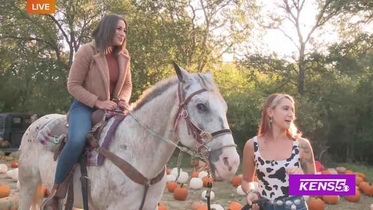 Clarke visits Owl Creek Farm