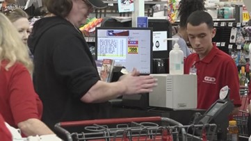 The importance of keeping some grocery items on shelves for needy families