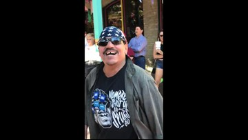 """""""Nombre, shut up"""" guy spotted at Fiesta"""