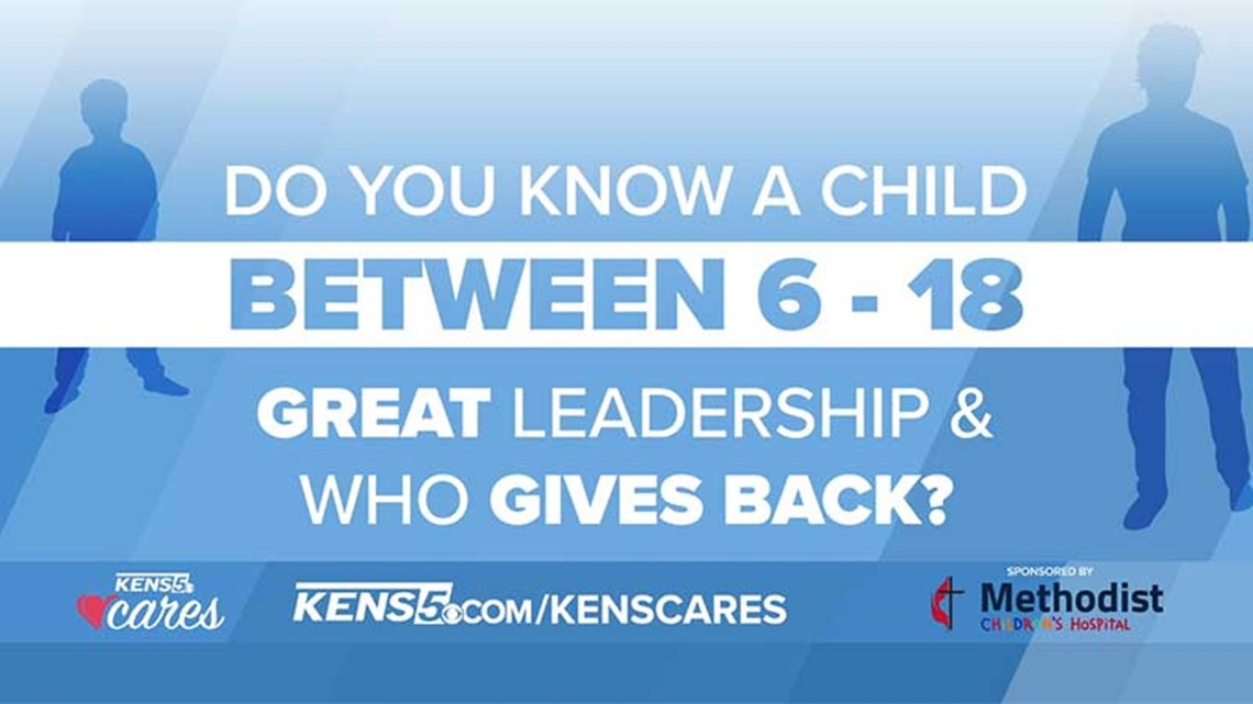 KENS CARES: Methodist Children's Hospital seeks kids to honor as 'Champions for Change'